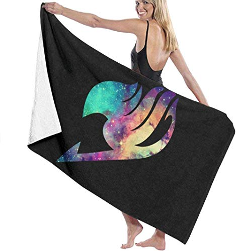 BAOYUAN0Telo da bagno Fairy Tail asciugamani da bagno super assorbente per la spiaggia palestra spiaggia miglior regalo Spa Telo mare unisex F437