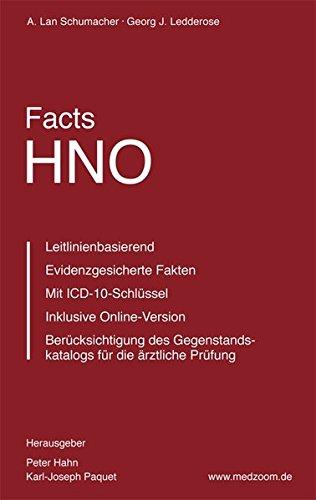 Facts HNO: Das neue medizinische Nachschlagewerk