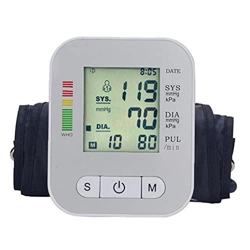 AtheMeet Dispositivo automático del probador de presión Arterial Dispositivo Máquina de la máquina de la Parte Superior Digital de la Pantalla.