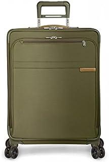 Briggs & Riley Baseline - Valigia espandibile a 4 ruote, 63,5 cm, 95 l, Oliva (Verde) - U125CXSP-7
