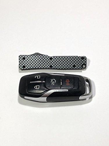 Mini Keychain Firecracker Knife Carbon Fiber