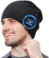 COTOP Cappello Bluetooth Idee Regalo Natale Uomo Berretto Uomo Donna Invernali, Berretto Bluetooth 5.0 Musica Cappello...