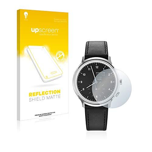 upscreen Entspiegelungs-Schutzfolie kompatibel mit Mondaine Helvetica No1 2nd time Zone (40 mm) – Anti-Reflex Bildschirmschutz-Folie Matt