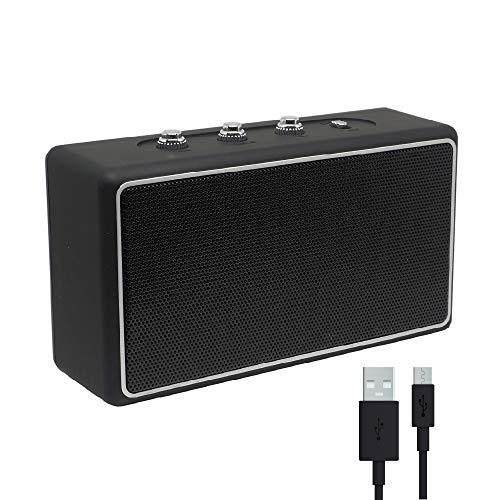 RAYPOW Altavoz Bluetooth Portátil Pequeño · Permite conexión con Tarjeta TF/SD, USB, Auxiliar y Bluetooth · Micrófono Incorporado para atender Llamadas