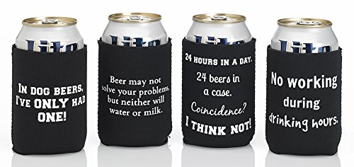 Funny Beer Cozies - Pack of 6 or Sold Individually