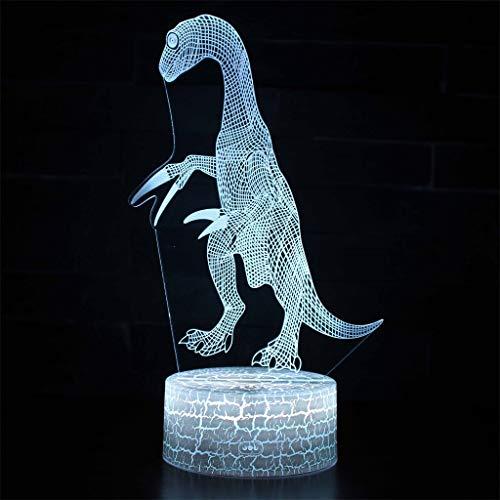 Veilleuse 3D / LED à économie d'énergie, 7 couleurs, tactile/télécommande, veilleuse de nuit, sculpture, cadeau pour enfants