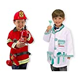 Melissa & Doug Role Play Bundle - Fire Chief and Doctor