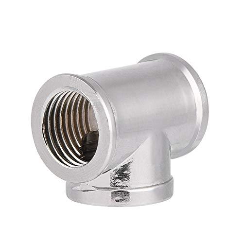Messingmaterial T-förmig passend passend Splitter Hochwertiger Adapter G1 / 4 Gewinde PC Wasserkühlsystem