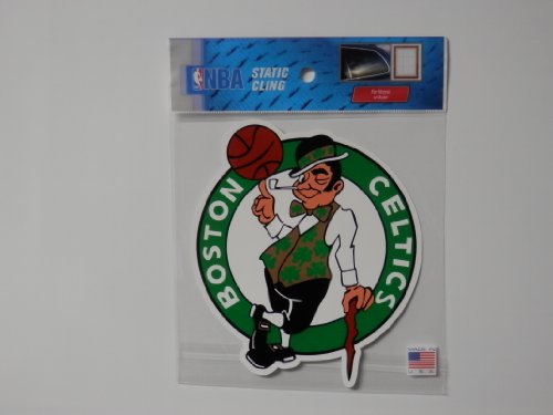 NBA Boston Celtics Die Cut Static Cling Decal