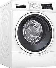 Bosch WDU28540 Series 6 Wasmachine Droger / A / 1224 kWh/Jaar / 9/6 kg / 1400 RPM / wit met glazen deur / AutoDry / Remodeling functie / AntiVibration Design*