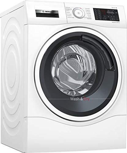 Bosch WDU28540 Serie 6 Waschtrockner / A / 1224 kWh/Jahr / 9/6 kg / 1400 UpM / weiß mit Glastür / AutoDry / Nachlegefunktion / AntiVibration Design