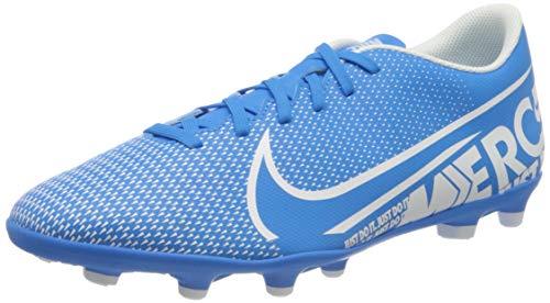 Nike Unisex Vapor 13 Club Fg/Mg Fußballschuhe, Mehrfarbig (Blue Hero/White/Obsidian 414), 46 EU
