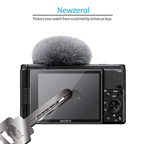 NEWZEROL 2 Stück Bildschirmschutz für Sony Vlog-Kamera ZV-1 [Premium Qualität] Blasen- und kratzfestes TPU 3D Edge to Edge [Vollständige Abdeckung] Weicher Bildschirmschutz