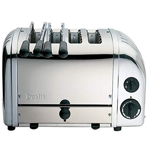 Dualit 42174 2 + 2 Toaster, Edelstahl