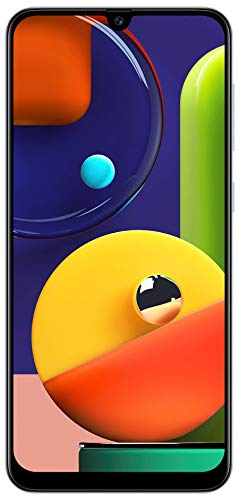 Samsung Galaxy A50s (Prism Crush White, 6GB RAM, 128GB Storage) with No Cost EMI/Additional Exchange Offers