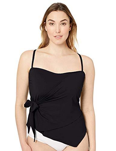 BECCA ETC Women's Plus Size Color Code, Black, 1X