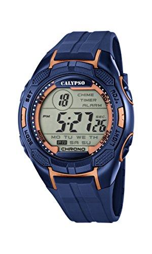 Calypso Reloj Digital para Hombre de Cuarzo con Correa en...