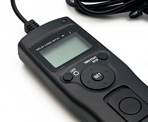 QUMOX Zeitraffer Intervalometer Fernauslöser Auslöser für Nikon D7000 D3100 D5000 D5100 D90