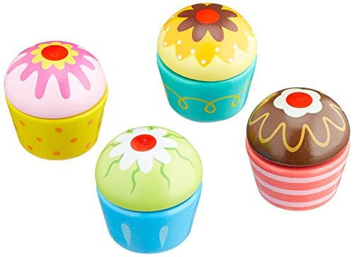 VIGA - Pastelitos de Juguete para Combinar - Madera