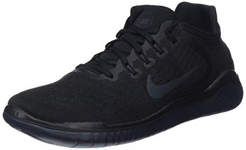 Nike Men's Free Rn 2018 Running Shoes, Grey (Wolf Grey/White/White/Volt 003), 7 UK