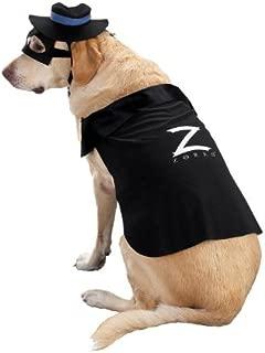 Official Zorro Dog Costume - Zorro Dog Costume Small Dog