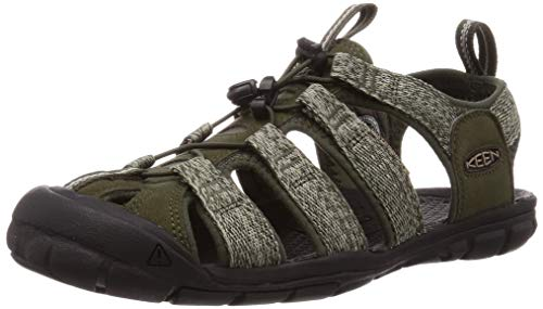 Keen Clearwater CNX, Sandalia Hombre, Noche Forest/Negro, 45