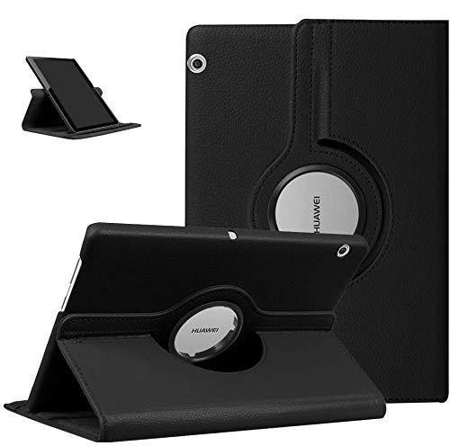 KATUMO 360° Rotazione Cover per Huawei Mediapad T5 10.1 Custodia Huawei Tablet T5 10 Protettiva Cover Mediapad T5