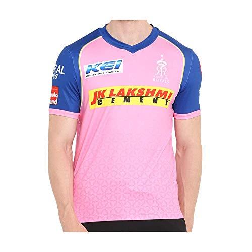 Rajasthan Royals 2019 Offizielles Vivo IPL Cricket-Trainings-Trikot, L/101,6–106,7 cm