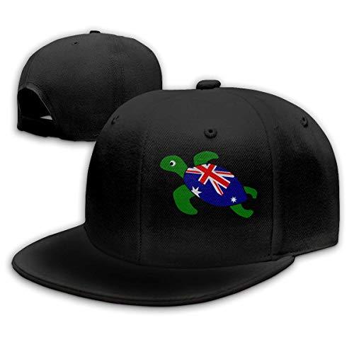 Snapback Cap Meeresschildkröte Australische Flagge Verstellbar, Papa Hüte, Trucker Hut, Sonnencreme, Snapback Cap, Hip Hop, Personalisiert, Winddicht, Erwachsene, Baseball Cap, Som