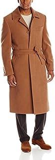 Stacy Adams Men's Eros Hidden Front Full Length Top Coat