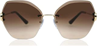بولغاري من دون اطار نظارة شمسية للنساء - 6105B-278/13-62mm