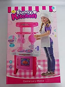 Kitchen Play Set Toy for Girls