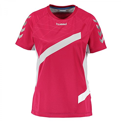 hummel Herren Futures Womens Short Sleeve Jersey Trikot, Persian Red, M