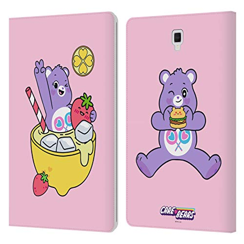 Official Care Bears Share Lemonade Sweet And Savory Leather Book Wallet Case Cover Compatible For Galaxy Tab S4 10.5 (2018)