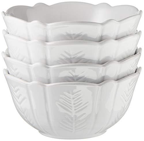 Lenox Alpine Carved 4-Piece Bowl Set