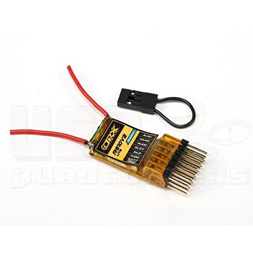 OrangeRX R610V2 Lite 6Ch 2.4GHz DSM2 Receiver with CPPM