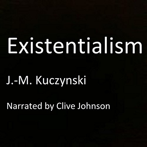 Existentialism audiobook cover art