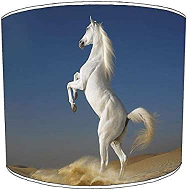 20,3cm Table white horse childrens lamp shades