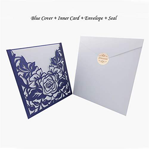 Tarjeta de felicitación de boda con diseño de flores y rosas personalizables