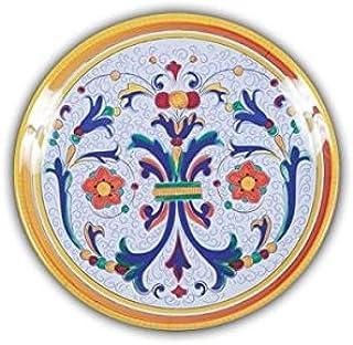 Italian Inspired Melamine Picnic Ricco Salad Plate