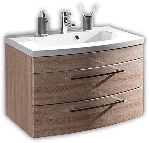 Waschplatz Badschrank Holz