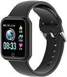 LIFEBEE Smartwatch Orologio Fitness Uomo Donna, 1.4' Bluetooth Smart Watch Sport GPS Cardiofrequenzimetro da Polso Contapassi Impermeabile IP68, Activity Tracker Bambini Cronometro per Android iOS