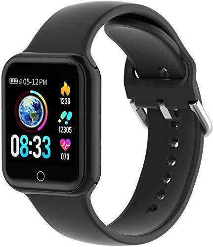 Smartwatch, LIFEBEE Fitness Armband Tracker 1,4 Zoll Touchscreen Uhr mit Blutdruckmessung IP68 Wasserdicht Smart Watch Pulsuhr Schlafmonitor Schrittzähler Armbanduhr Bluetooth für Android iOS
