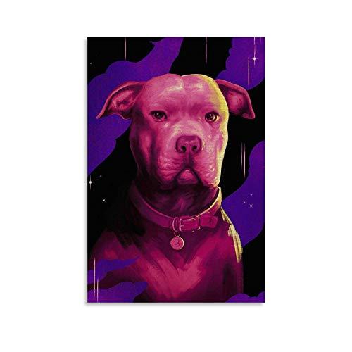 SHUIJ Póster de John Wick, diseño de perro de John Wick, 50 x 75 cm