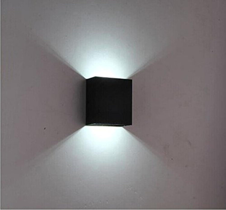 U-Enjoy Kronleuchter LEDWand 10Cm  10Cm  5Cm Apliques Lampe Top Qualitt De Parot Parot Lamparas Wandmontage Licht Lampe 6W Nachttischlampe Kostenloser Versand [Schwarz, 6W & Kaltes Wei]