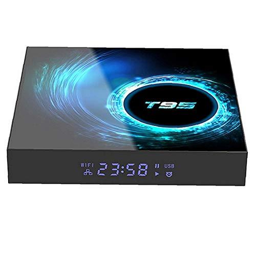 Tuimiyisou Smart TV Box T95 2,4 g WiFi Set Top Box 4 GB 32 GB Bluetooth 5.0 multilingüe Android