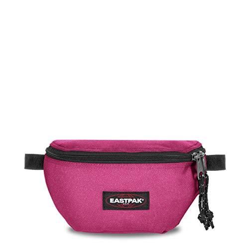 Eastpak Springer Marsupio portasoldi, 23 cm, 2 L, Tessuto glitterato, Rosa (Spark Pink)
