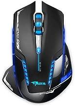 E-3LUE E-3LUE Gamer Mice, Wireless Optical Gaming Mouse 2.4GHz Mazer II 2500 DPI Blue LED Backlit For PC MAC Laptops