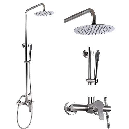 Outdoor Shower Faucet Fixture System Combo Set...