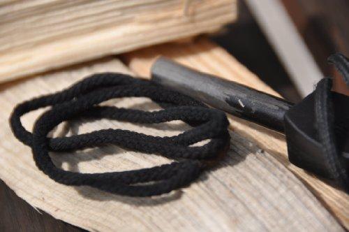 Cordelette carbonisée 50 cm